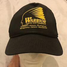 Vintage Warrior Tractor and Equipment Birmingham, Alabama Trucker Hat Cap Vguc
