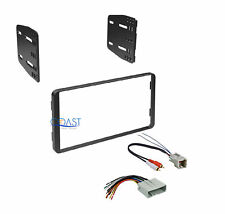 Car Stereo Radio Double Din Dash Kit w/ Harness for 2004-2007 Ford Escape