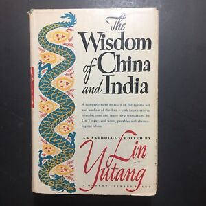 THE WISDOM OF CHINA AND INDIA lin yutang HARDCOVER
