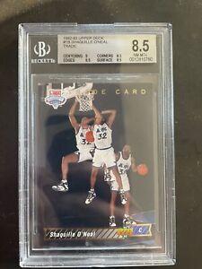 1992-93 UPPER DECK SHAQUILLE ONEAL #1b RC BGS 8.5 Orlando Magic