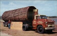 Old 1950s Truck GMC? Carrying Giant California Redwood Tree