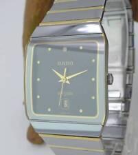 Original Rado Diastar Unisex Uhr in Edelstahl vergoldet und HTC