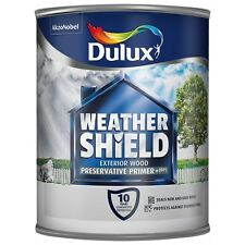 Dulux Weathershield Preservative Primer 750ml use on all types of wood.