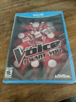The Voice: I Want You (Nintendo Wii U Game, 2014) FREE SHIPPING