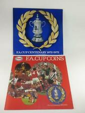 ESSO FA CUP CENTENARY COINS 1872 - 1972 Complete Set Near Perfect Plus Temp Card