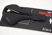 Sillín Fizik ANTARES R1 ABIERTO Grande 142mm Carbono Trenzado Negro/
