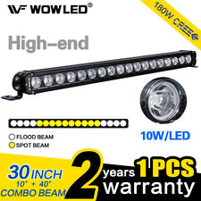 "WOW - High End 180W 30"" Offroad CREE Combo LED Driving Work Light Bar Truck ATV"