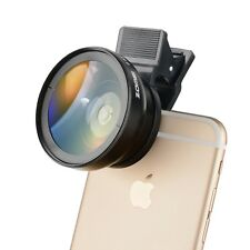 ZOMEi 2 in 1 Lens,0.45X W/ Angle,12.5X Macro Lens for iPhone Smartphone