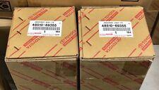 Genuine Lexus LX570 2008-2019 Front Shock Absorbers Set 48510-69355 x2 OEM