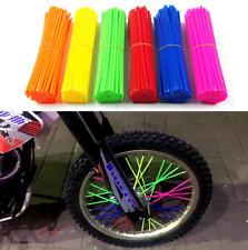 72pcs Universal Motocross Bike Enduro Wheel Rim Spoke Cover Dirt free Wrap Skin