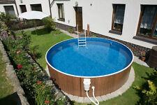 Schwimmbad Pool Stahlwandbecken Rundpool 4,60 x 1,10 m Schwimmbecken