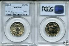 ~LOWEST PRICES~ 2002-P MS67 Sacagawea Gold Dollar PCGS