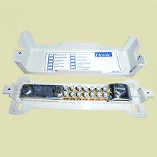 f-tronic® Potenzialausgleichschiene 7 Klemmen 2,5-16 mm² Ausgleichschiene