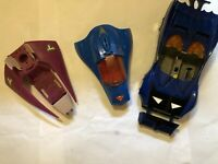 VINTAGE KENNER DC  SUPER POWERS BATMOBILE, SUPERMOBILE.