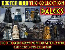 More details for eaglemoss doctor who collection: dalek issues (select item) figurine & magazine