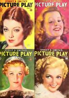 140 OLD ISSUES OF PICTURE PLAY - AMERICA FILMS MAGAZINE VOL.2 (1925-1938) ON DVD