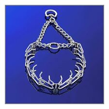 Sprenger Chrome Ultra Plus Prong/Pinch Collar 4.0mm with Swivel D Ring