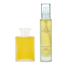 Aromatherapy Associates Inner Strength Bodycare Bath Shower Oil + Body Oil #b270
