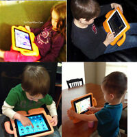 3D Safe Kids Proof  EVA Foam Stand Case Handle Cover Fr iPad 234 Mini 1234 Air 2