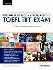 OXFORD PREPARATION COURSE FOR TOEFL IBT EXAM - BATES, SUSAN - NEW PAPERBACK BOOK