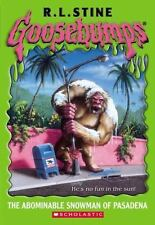 The Abominable Snowman of Pasadena  (Goosebumps Series)