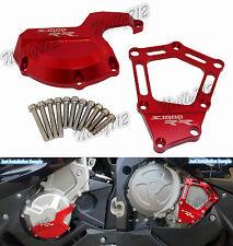 Rosso Motore Statore Copertura Protezione Per BMW HP4 S1000R S1000RR S1000XR K46