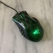 Razer Naga Hex MOBA Green PC Gaming Mouse RZ01-0075