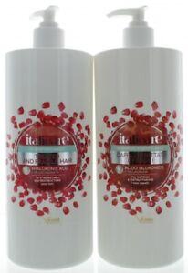 Hyaluron Haarshampoo + Haarmaske mit Granatapfel (2x1000ml) mit Hyaluronsäure