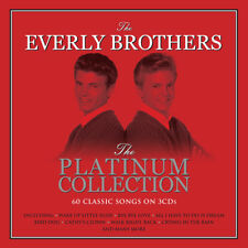 Everly Brothers - Platinum Collection - Best Of - Greatest Hits 3CD NEW/SEALED