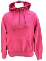 NEW Nike Sportswear NSW Mens Vintage Organic Cotton Slim Fit Hoodie Pink L