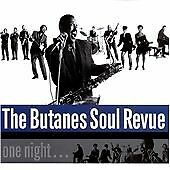 Butanes Soul Revue - One Night (1998) audio CD, very good condition.