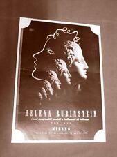 Pubblicità dei primi del '900 Helena Rubinstein e Radio Crosley Siare