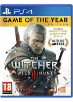 The Witcher 3 Game of The Year Edition Playstation 4 (PS4) •NEW & SEALED•
