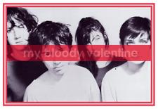 "My Bloody Valentine  *POSTER*  24"" MBV Print Promo  - Kevin Shields SHOEGAZE"