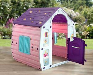 Unicorn Children's Playhouse Wendy House Magical Play House By Starplast!