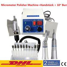 Dental Labor Marathon Micromotor N3 Mikromotor Winkelstück Handstück mit 10*Burs
