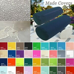 TAILOR MADE*Bolster Cover*Waterproof Outdoor Yoga Neck Roll Long Tube Case Dw27