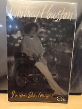 cassette single Whitney Houston I'm Your baby tonight 1990 factory sealed.