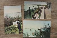 China 8 AK Taihu See Lake 1950-1960s Jüantoudju Park Sanatorium Hengjün +++