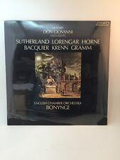 Sealed SET of 2 Vtg LP Vinyl Pavarotti BONYNGE Giovanni New Old Stock