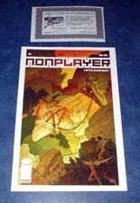 NONPLAYER #1 signed 1st print iMAGE COMIC NATE SIMPSON 2011 COA RARE non player