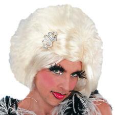 Travestit artistes perruque blonde drag queen embarrassante hommes femmes wig NEUF