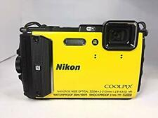 Nikon COOLPIX AW130 Yellow Waterproof Compact Digital Camera USED