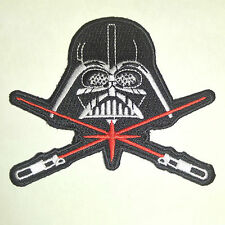 "Star Wars Darth Vader Crossed Sabers 3.5"" Wide Embroidered Patch (Swpa-Fc-39-B)"
