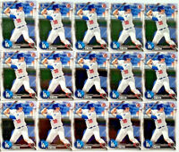 (15) WILL SMITH 2016 Bowman Draft #BD-84 Rookie 1st RC Los Angeles Dodgers LOT