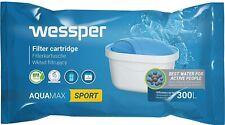 Wessper SPORT Aquamax Wasserfilter Kartuschen komp. mit BRITA Maxtra, WES003-SP