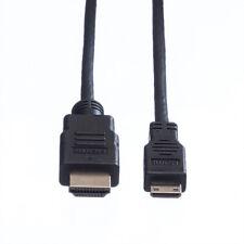 HDMI High Speed Kabel mit Ethernet, HDMI Stecker - Mini HDMI Stecker, 2 m