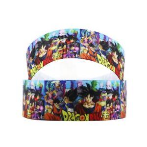 "Dragonball Z ribbon 1m long 1"" wide (new)"