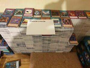 1000 yugioh Bulk Clearance 1000 cards Contains rares and Holos also
