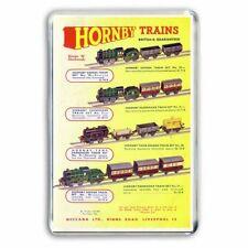 HORNBY TRAIN O GAUGE CLOCKWORK SETS  ADVERT  ARTWORK JUMBO Fridge Magnet